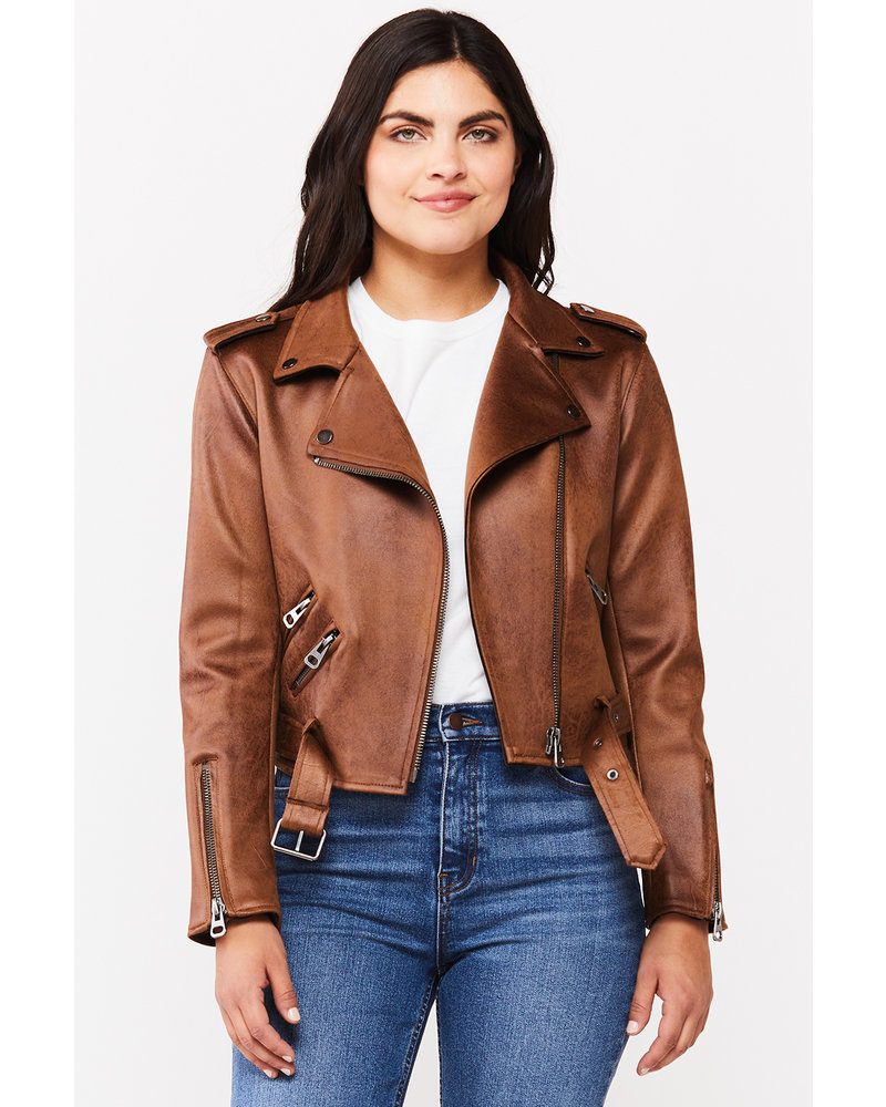 Citrine Moto Jacket