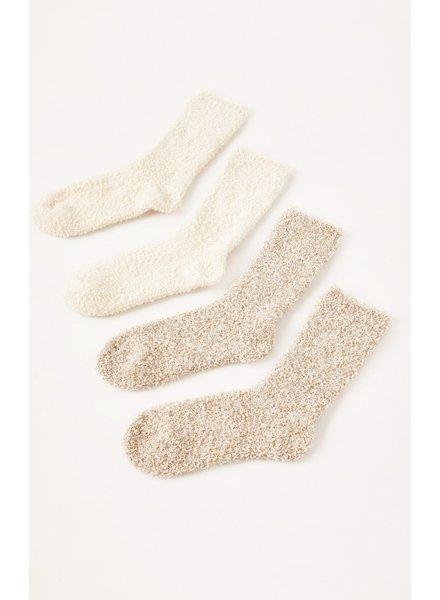 Z Supply 2 Pack Blush Plush Socks