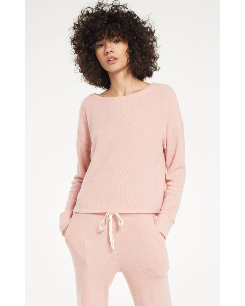 Z Supply Leila Rib Long Sleeve
