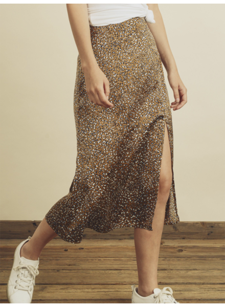Dress Forum Chilling Cheetah Slit Skirt