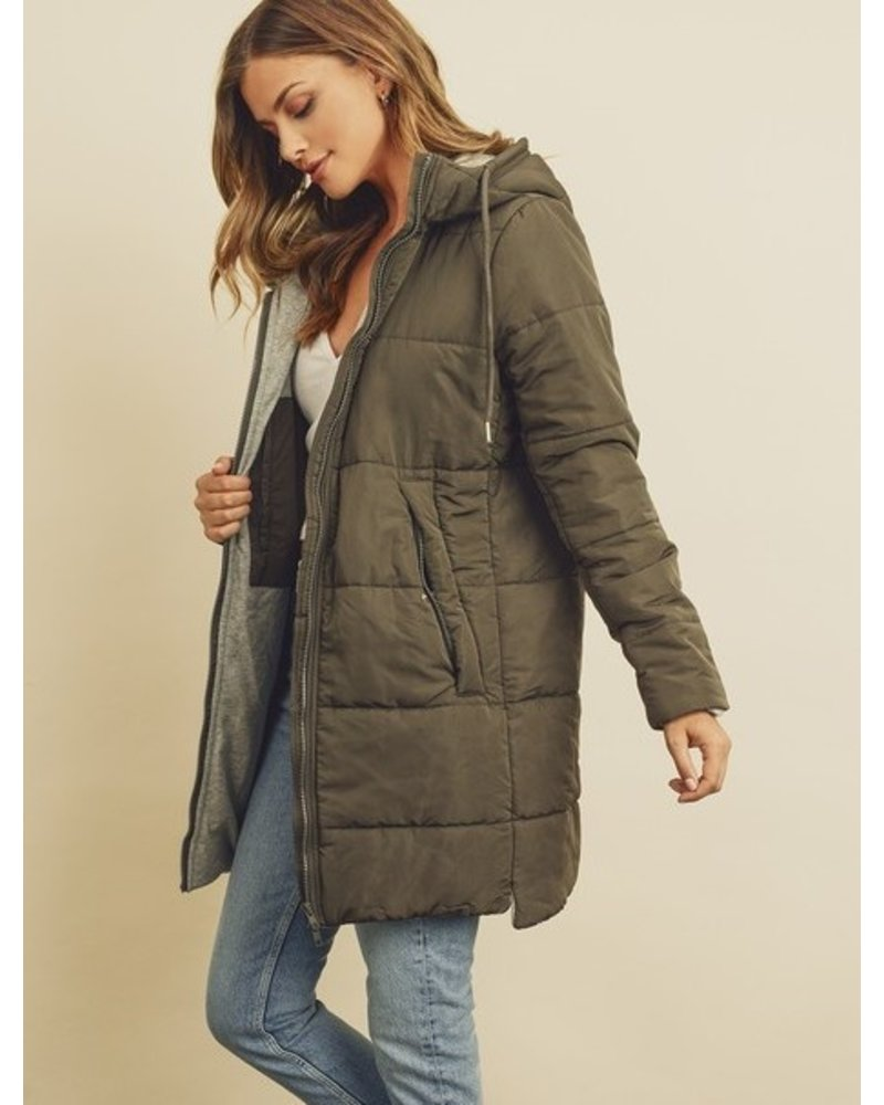 Dress Forum Below Zero Puffer Jacket