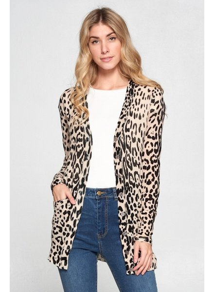 Toasty Leopard Cardigan