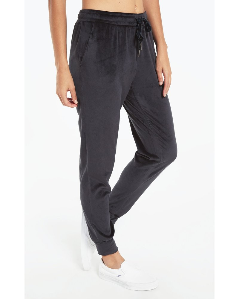 Z Supply Evalyn Velour Jogger Pant