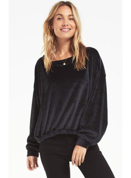Z Supply Bohdi Velour Sweatshirt