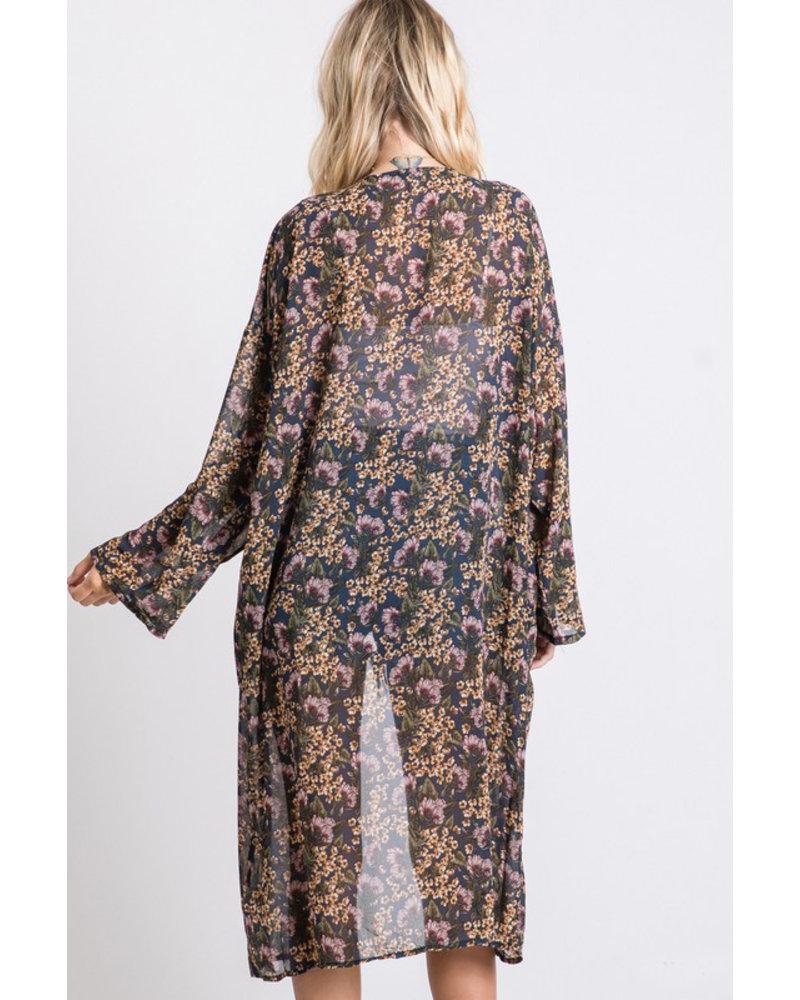 Jodifl Falling Leaves Kimono