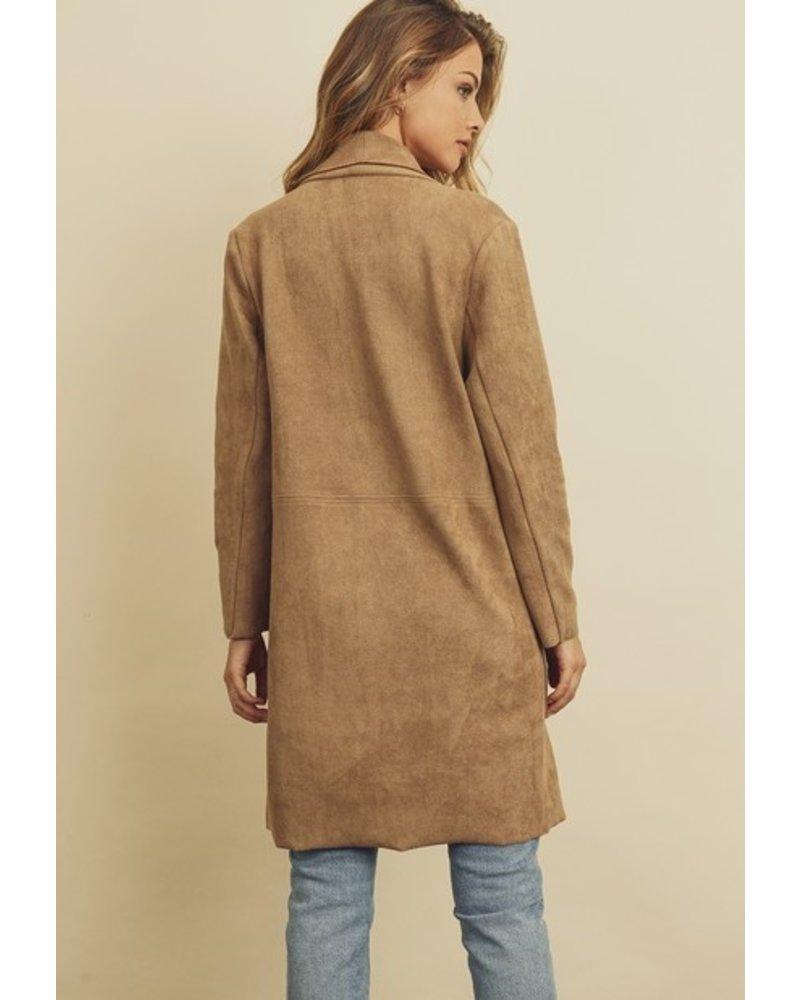 Dress Forum Gingerbread Scuba Coat