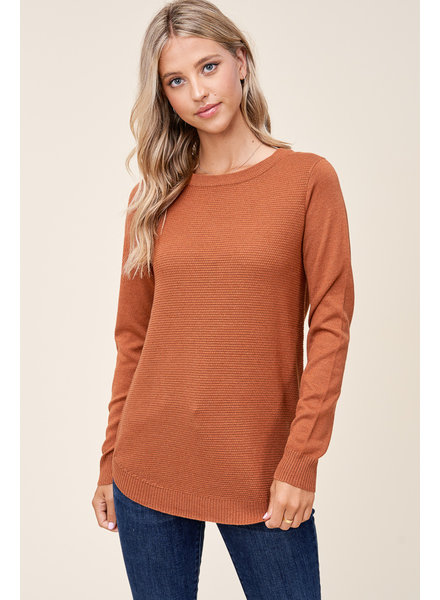 Copper Crew Sweater