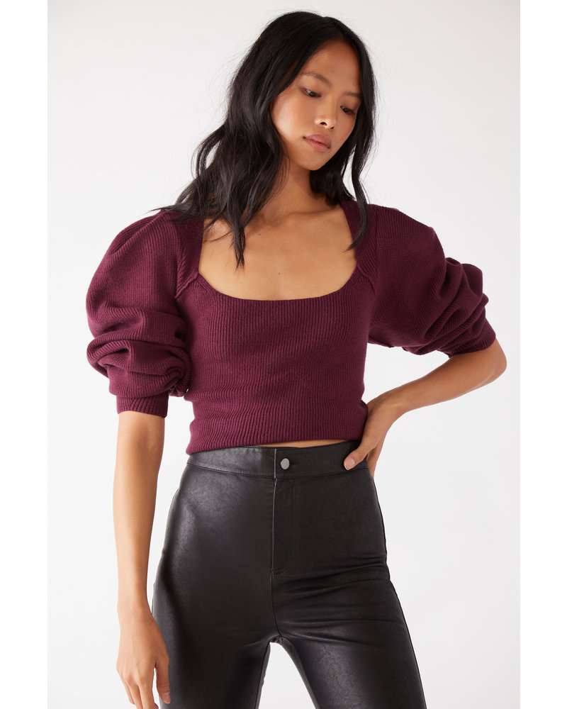 Free People Saffron Crop Top