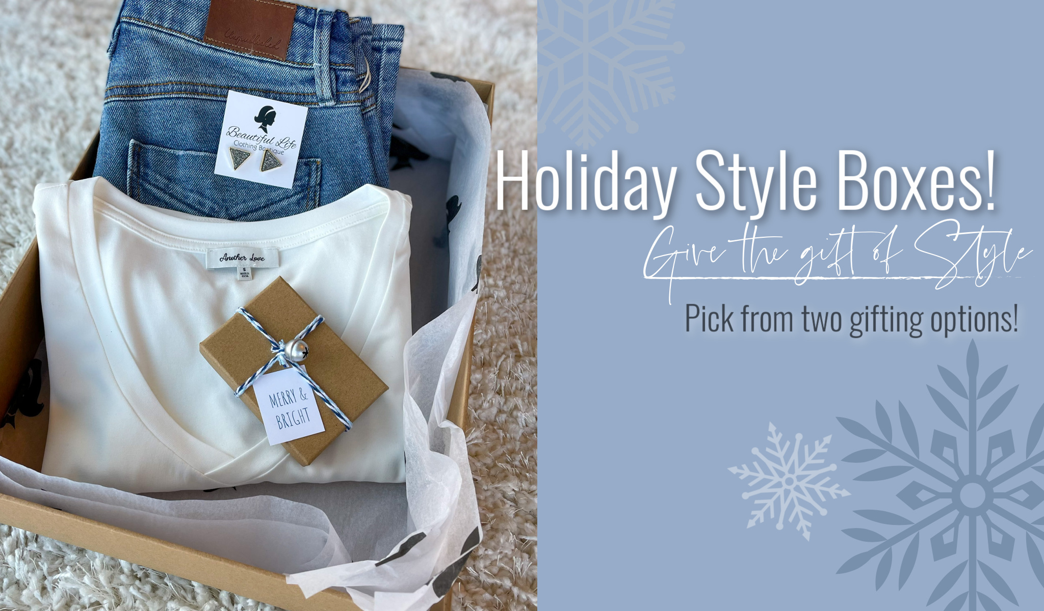 Holiday Style Boxes