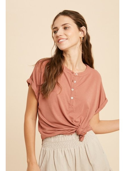 Cindy Cap Sleeve Top