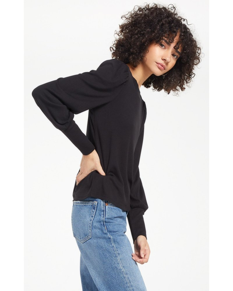 Z Supply Clemente Puff Sleeve Top
