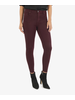 KUT From The Kloth Donna High Rise Ankle Skinny Wine