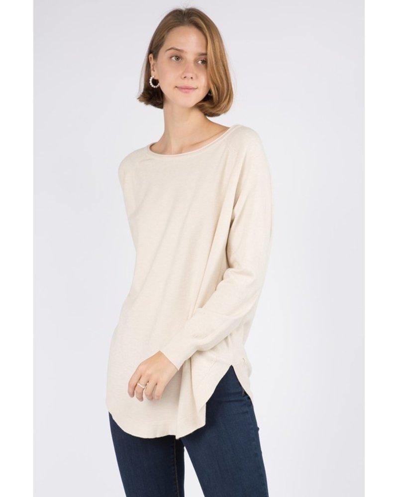 Arctic Blast Boatneck  Sweater