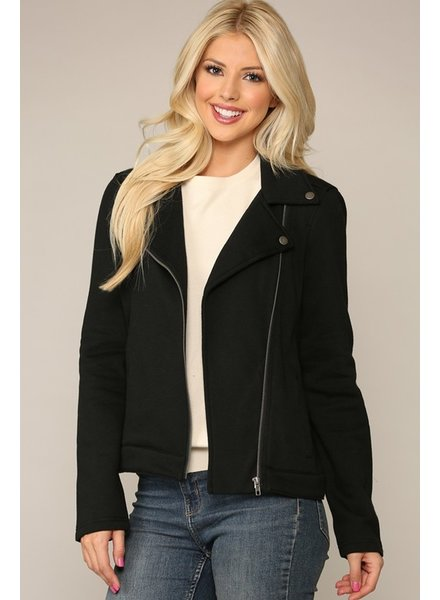 Be Cool Brace The Cold Biker Jacket