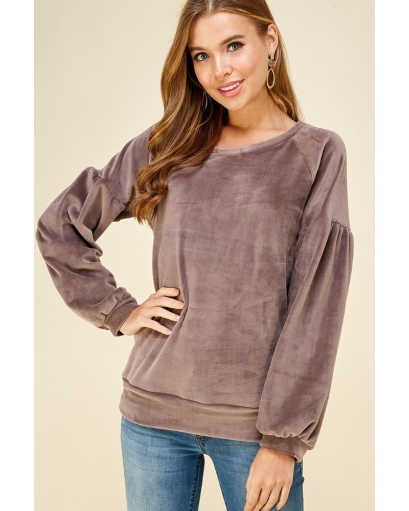 Les Amis Fuzzy Wuzzy Sweater