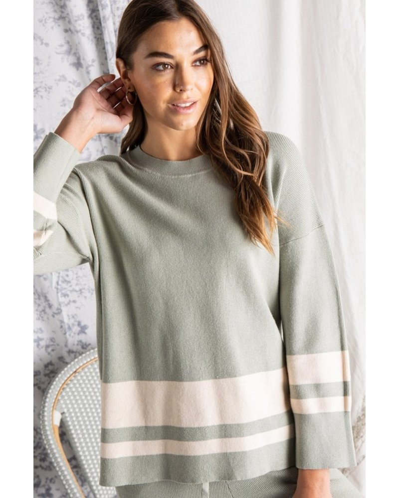 Donna Sage Knit Sweater