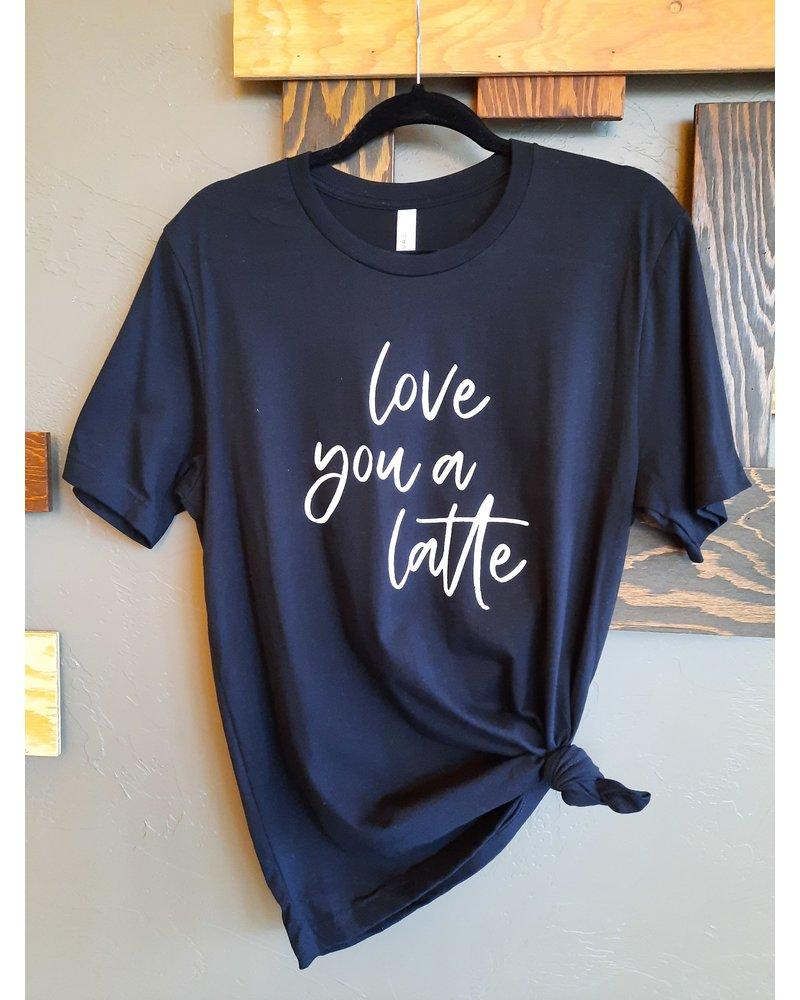 OAT Love You A Latte Tee