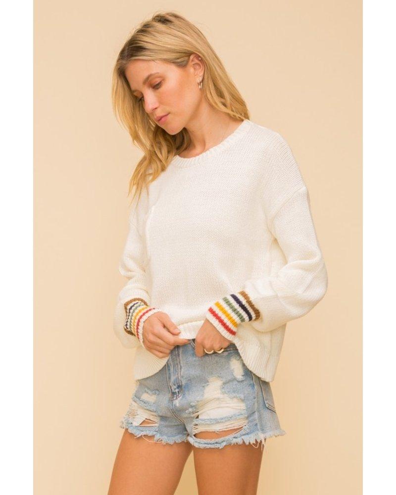 Break Into Spring Sweater
