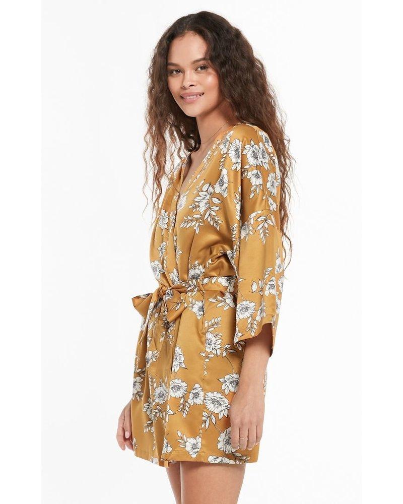 Z Supply Vacay Floral Robe