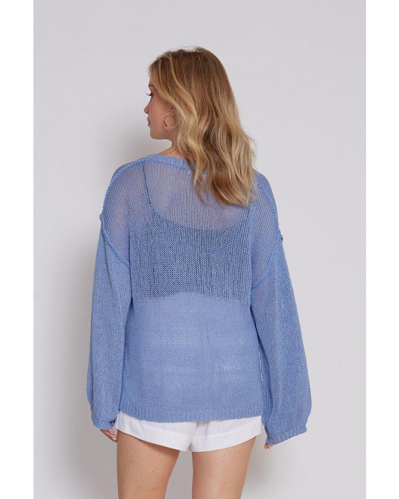Julissa Open Knit Sweater