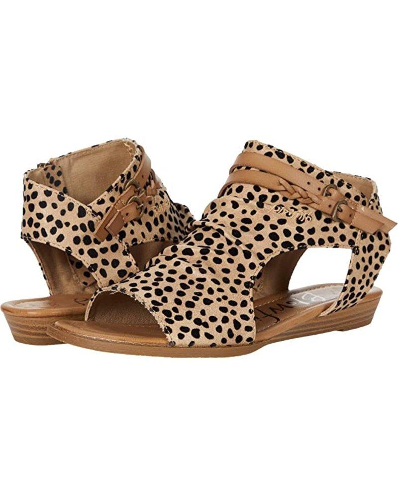 Sand Leopard Sandals