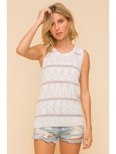 Sunny Days Tank Sweater