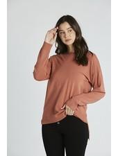 Ocean Side Sweater Clay