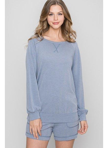 Be Cool Rosa Raglan Pullover