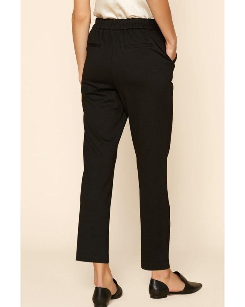 Welt Pocket Trouser Black