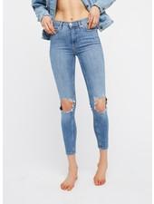 Free People Busted Knee Skinny Jean