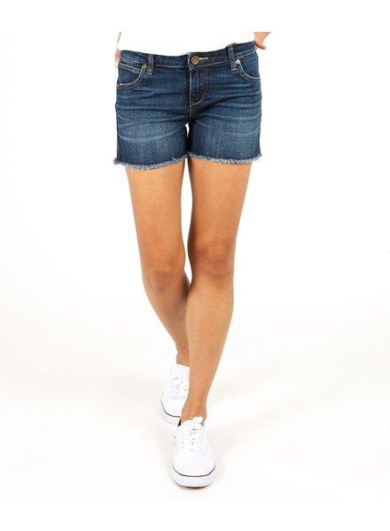 KUT From The Kloth Gidget Fray Shorts