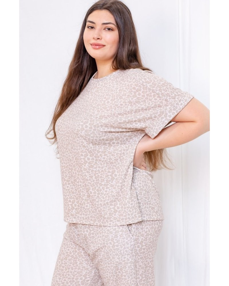 Gilli Chill Out Cheetah Top