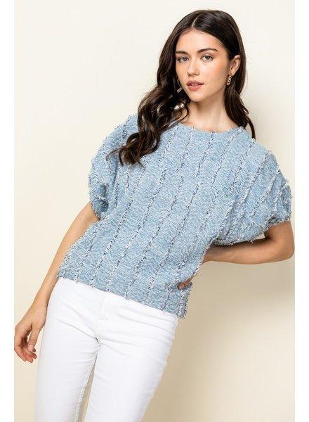 THML Clothing Ocean Ripples Top