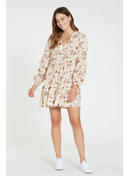 Dear John Lucy Peach Blossom Dress