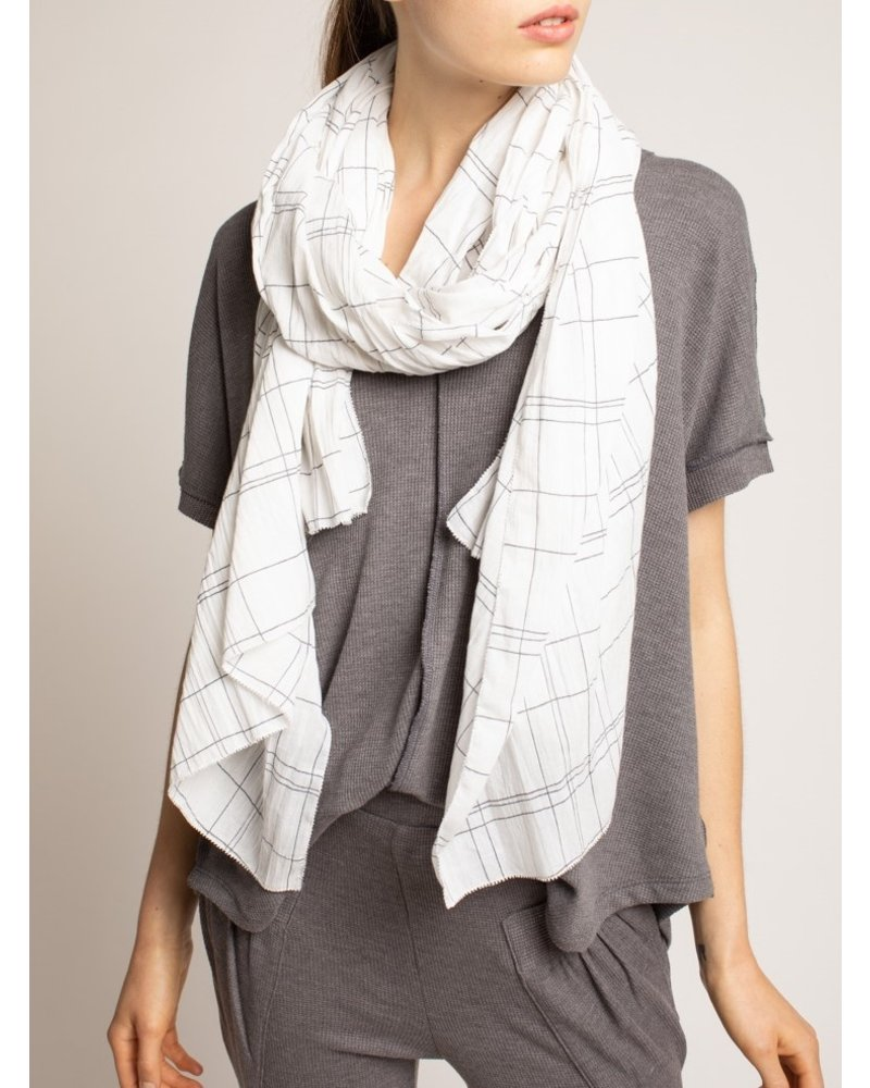 Grade and Gather Checking In Scarf
