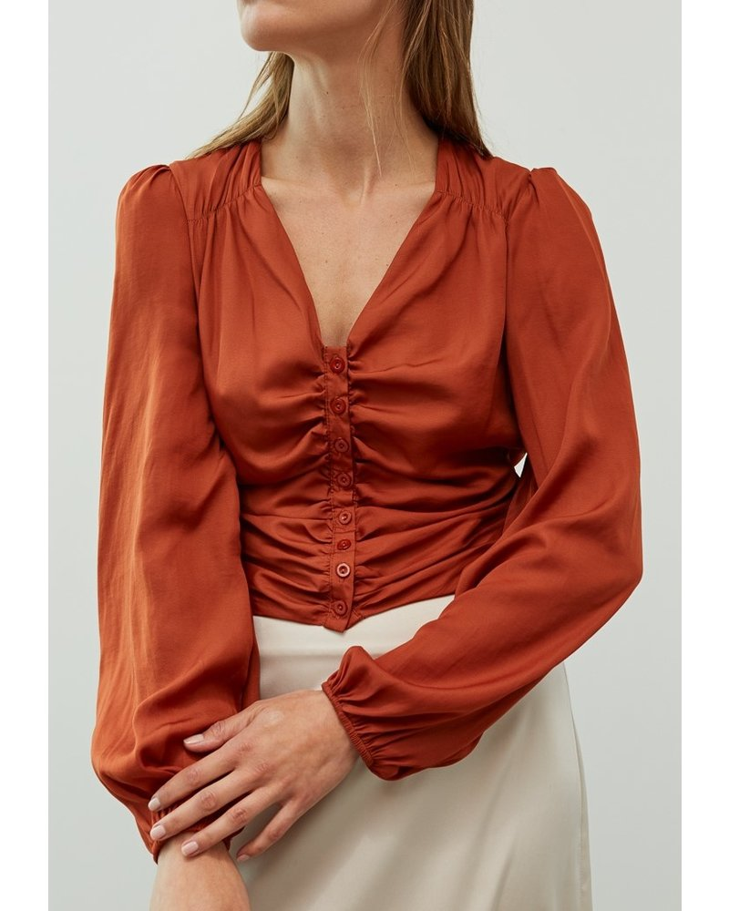 Grade and Gather Smock It To Me Top