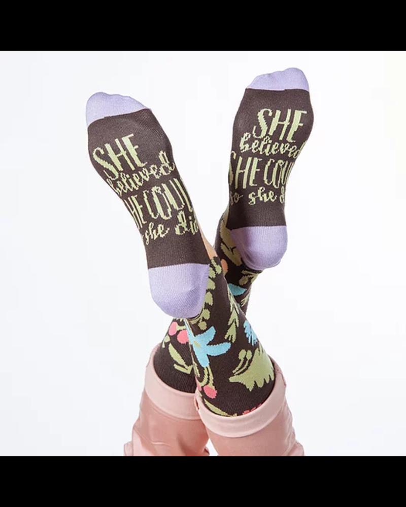 World's Softest Believed She Could Socks