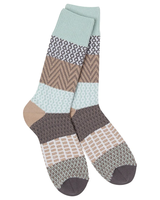 World's Softest Gallery Crew Socks Savannah