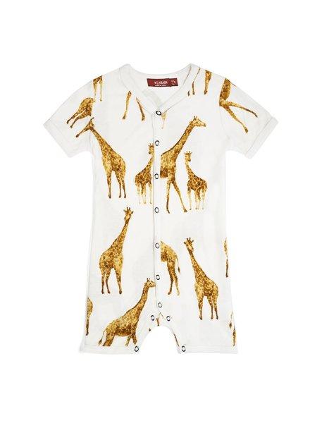 Bamboo Shortall Giraffe