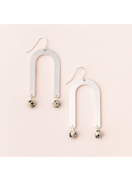 Scout Dalmation Arch Earrings