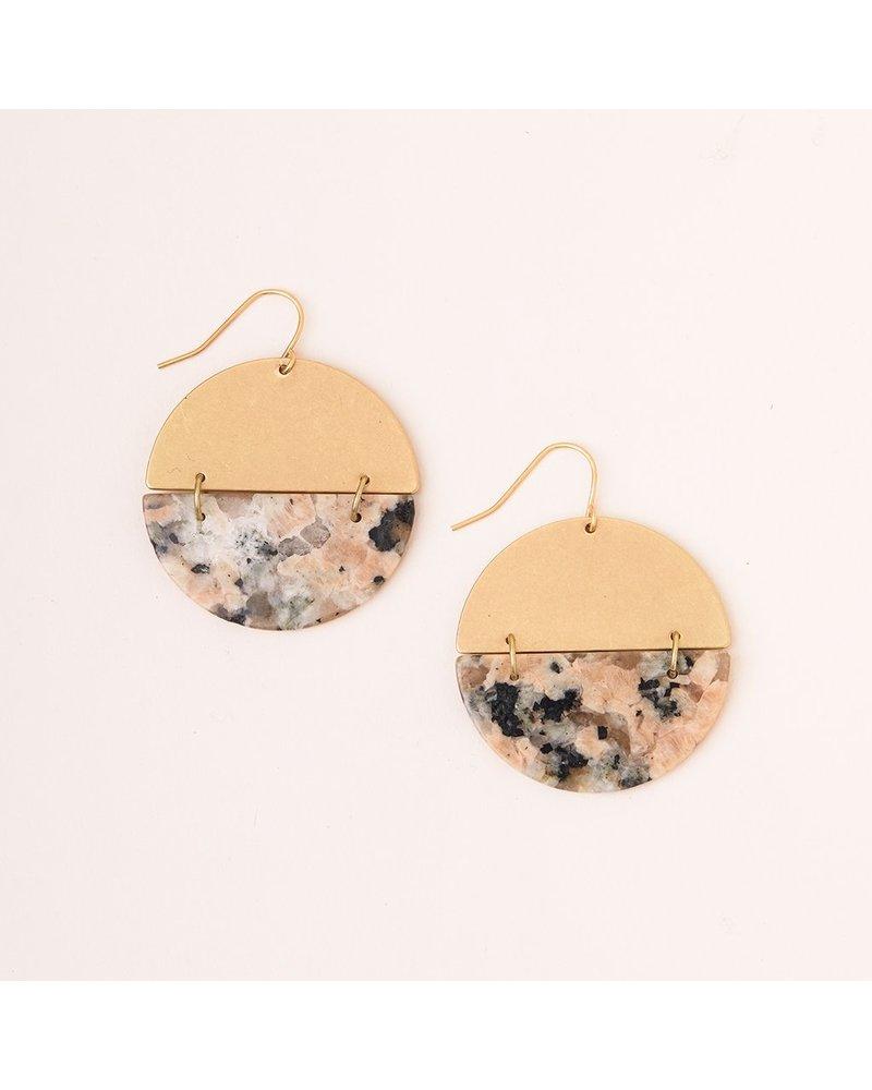 Scout Full Moon Stone Earring