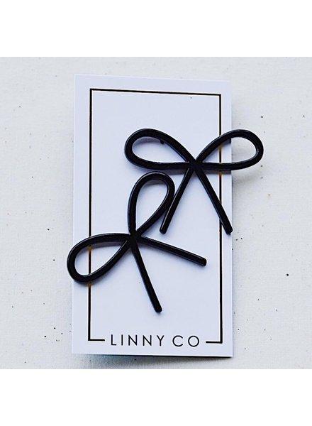 Linny Co Lola Bow Earrings