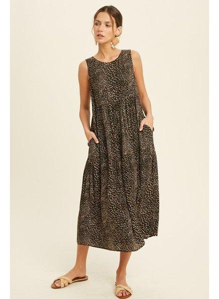 Catch A Glimpse Midi Dress