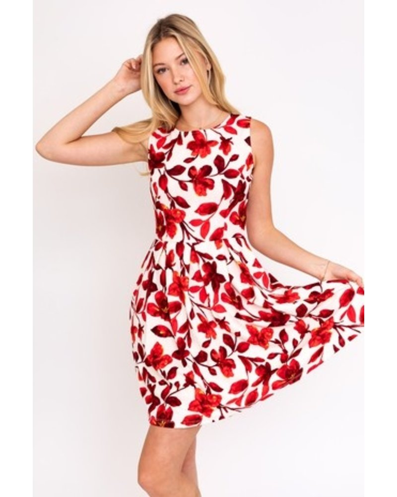 Gilli Coral Bell Dress