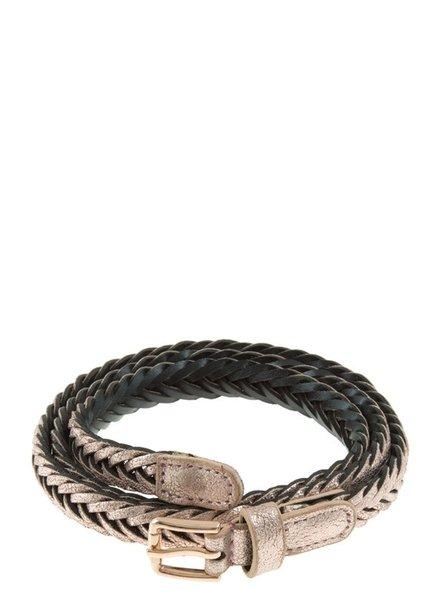 I.CCO Accessories Painted Braided Belt