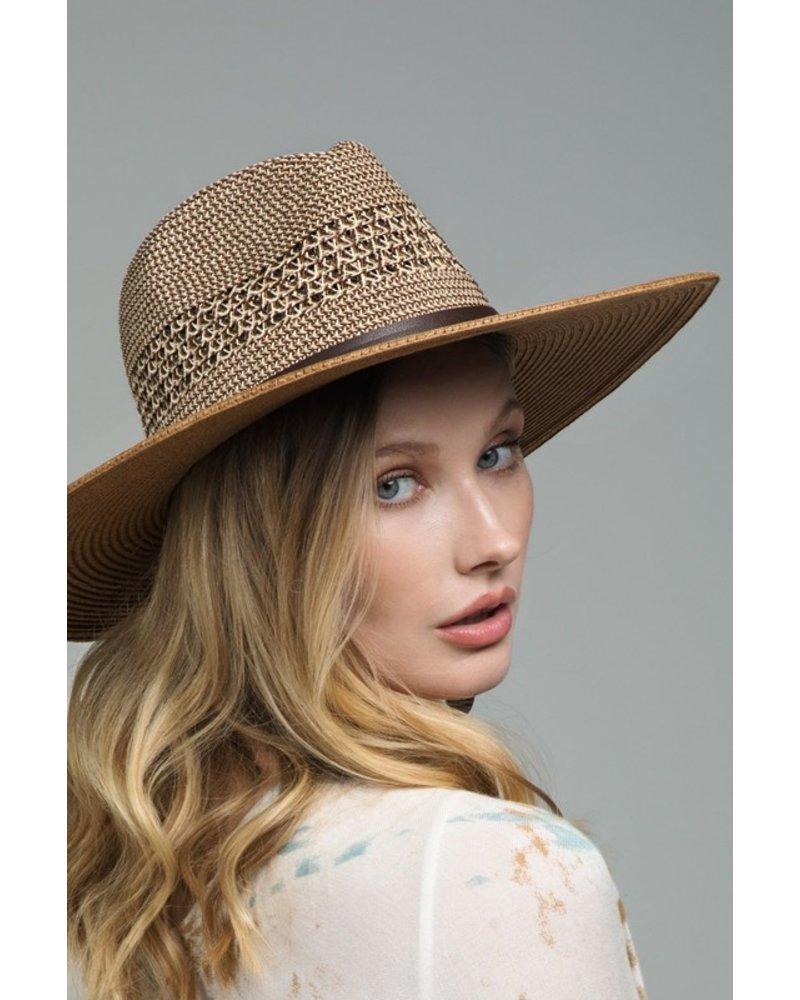 Urbanista Leather Band Panama Hat