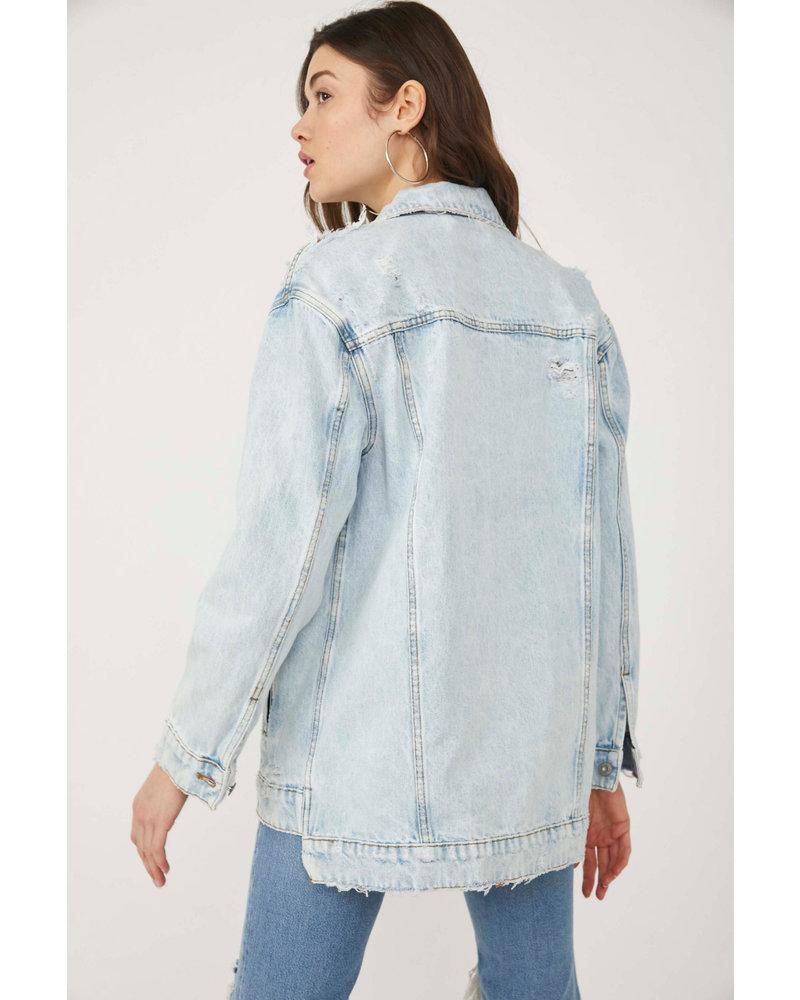 Free People So Long Jean Jacket