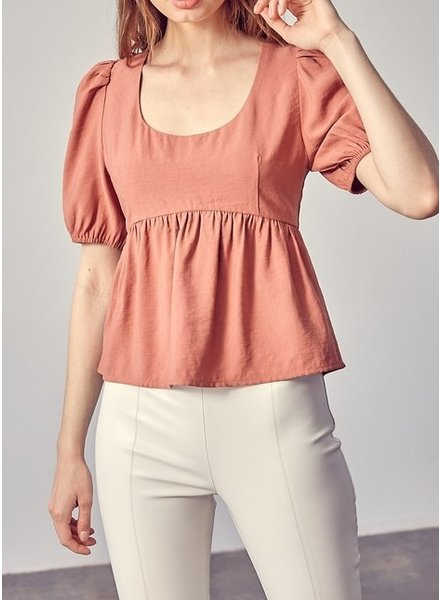 Idem Ditto Back To Back Ruffle Top