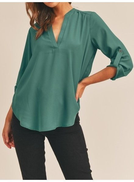 Lush On A Roll Blouse