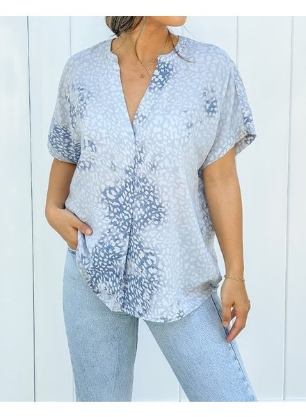 Love Stitch Slow Your Roll Blouse
